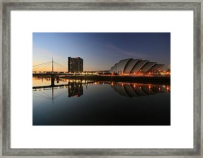 Clydeside Reflections  Framed Print