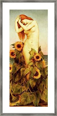 Clytie Framed Print