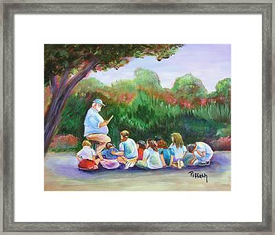 Coach Framed Print by Patricia Piffath