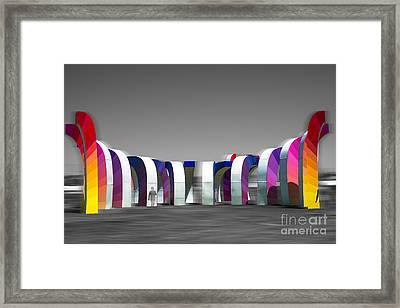 Coachella Music Festival 2015 Framed Print by Art K