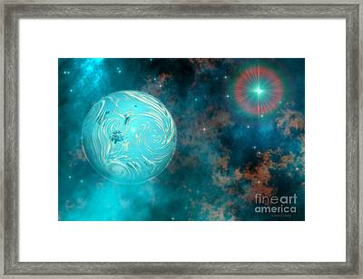 Coalescence Framed Print by Corey Ford