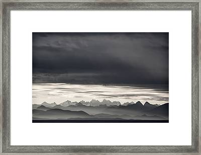Coastal British Columbia Framed Print