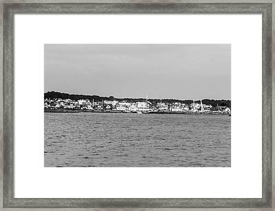 Coastline At Molle In Sweden Framed Print
