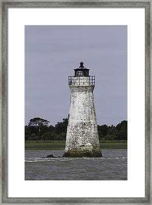 Cockspur Lighthouse Framed Print