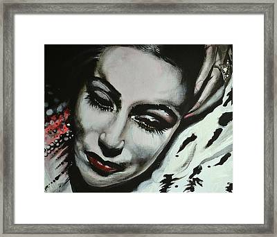 Dolores Framed Print by Sandro Ramani