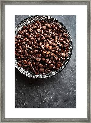 Coffee Framed Print by Nailia Schwarz