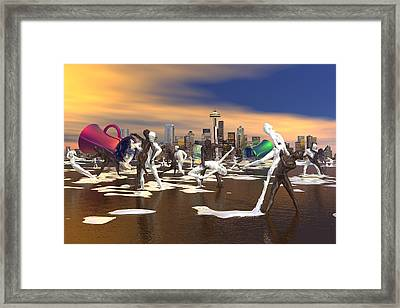 Coffee With Cream Framed Print by Williem McWhorter