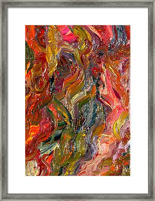 Cognitive Dissonance  Framed Print by Kimby Faires