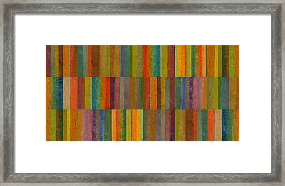 Collage 26 Framed Print by Michelle Calkins