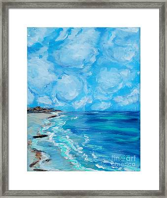 Collection. Art For Health And Life. Painting 4 Framed Print