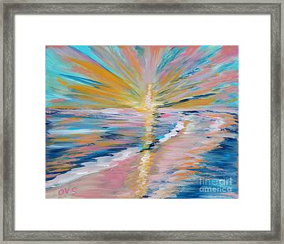 Collection. Art For Health And Life. Painting 5 Framed Print