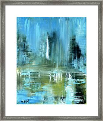 Original For Sale. Collection Art For Health And Life. Painting 9 Framed Print
