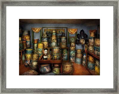 Collector - Hats - The Hat Room Framed Print