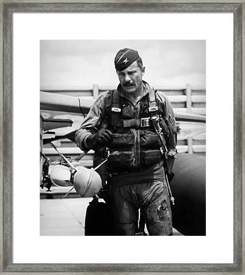 Colonel Robin Olds Framed Print by War Is Hell Store