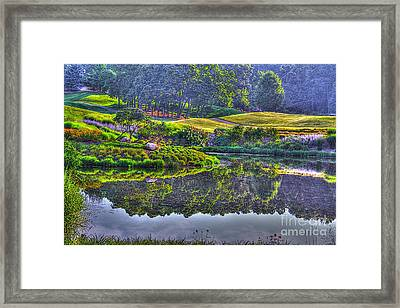 Color And Fog Framed Print by Robert Pearson
