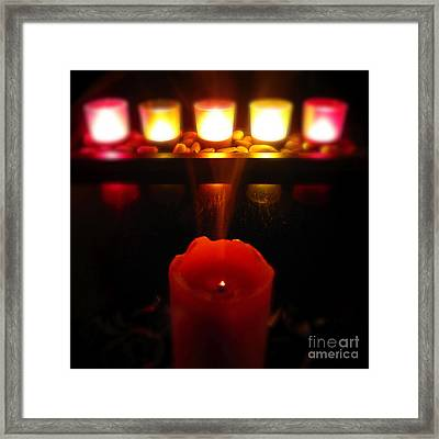 Color In Lights Framed Print by CML Brown