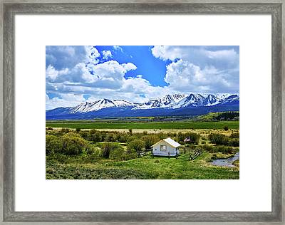 Colorado Mountain Vista Framed Print by L O C