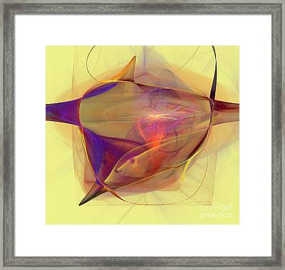 Colorful Abstract Figures  Framed Print