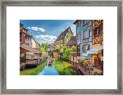Colorful Colmar Framed Print by JR Photography