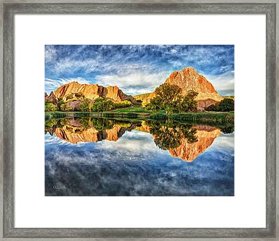 Colorful Colorado Framed Print