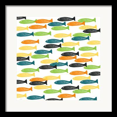 Aquatic Life Framed Prints