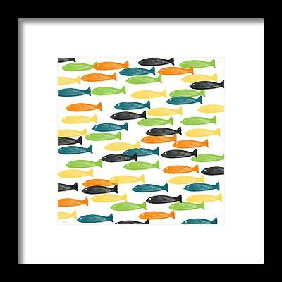 Tropical Fishes Framed Prints