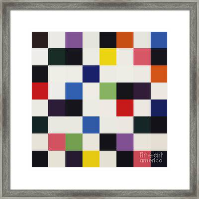 Colors For A Large Wall Framed Print by Max Requenes