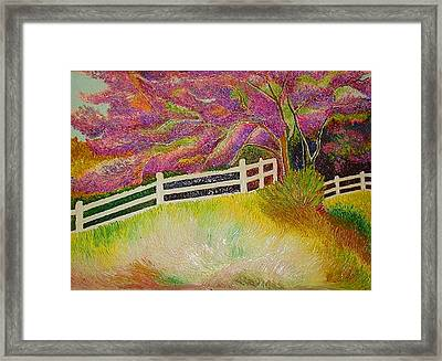 Colourful Earth Framed Print