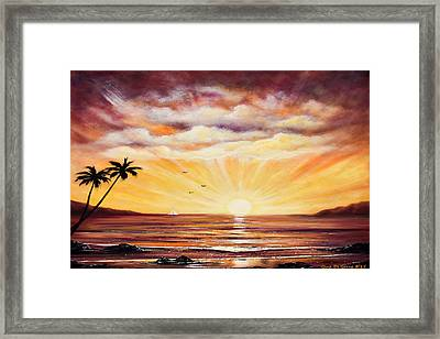 Come Fly With Me Framed Print by Gina De Gorna