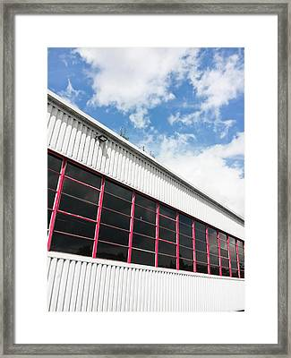 Commercial Building Framed Print by Tom Gowanlock