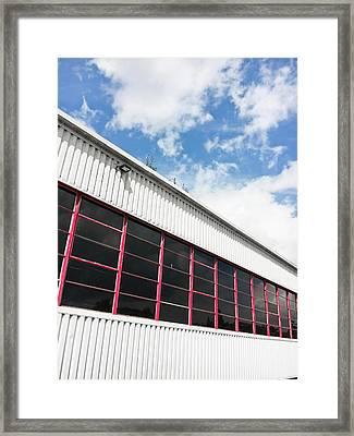Commercial Building Framed Print