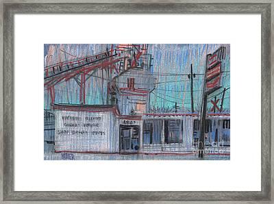 Commercial Industrial Framed Print