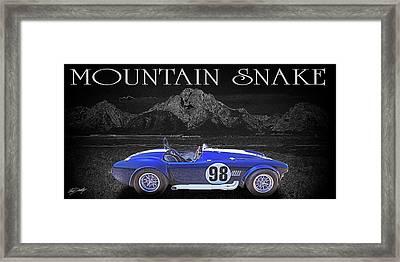 Competition Cobra Framed Print