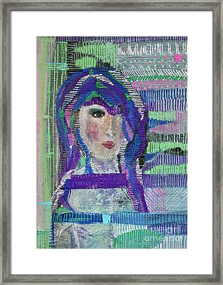 Complicated Woman Framed Print
