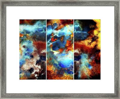 Composed Framed Print by Tom Druin