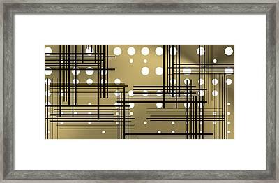 Composition 1 Framed Print by Alberto RuiZ