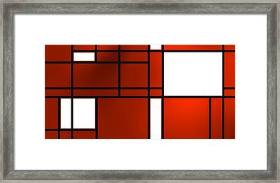 Composition 10 Framed Print by Alberto RuiZ