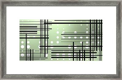 Composition 3 Framed Print by Alberto RuiZ