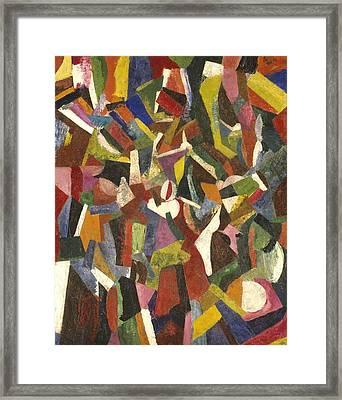 Composition Vi Framed Print by Patrick Henry Bruce