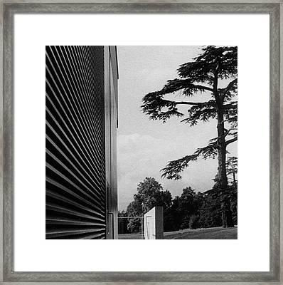 Compton Verney Warwickshire England Framed Print