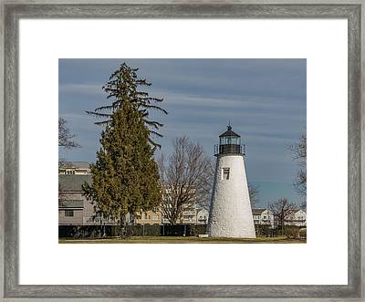 Concord Point Light Framed Print