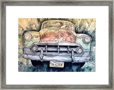 Condon's Coupe Framed Print by Lance Wurst