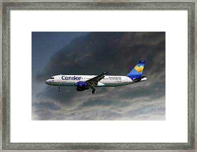 Condor Airbus A320-212 Framed Print