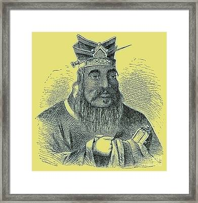 Confucius Framed Print by English School