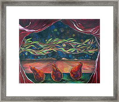 Consequence Beyond The Horizon Framed Print