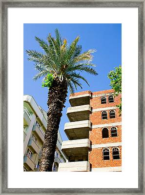 Construction Framed Print by Tom Gowanlock