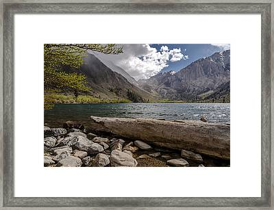 Convict Lake Framed Print by Cat Connor