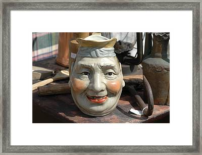 Cookie Jar Framed Print by William A Lopez