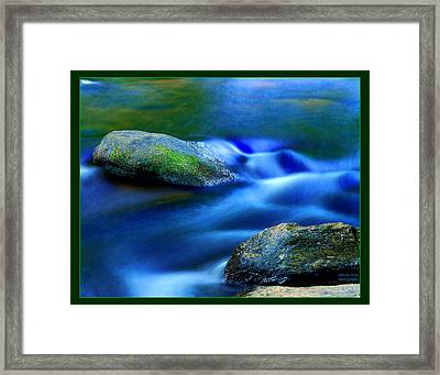 Cool Color Framed Print by William Bray