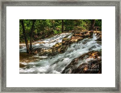 Cooling Waters At The Chickasaw National Recreation Area Framed Print by Tamyra Ayles